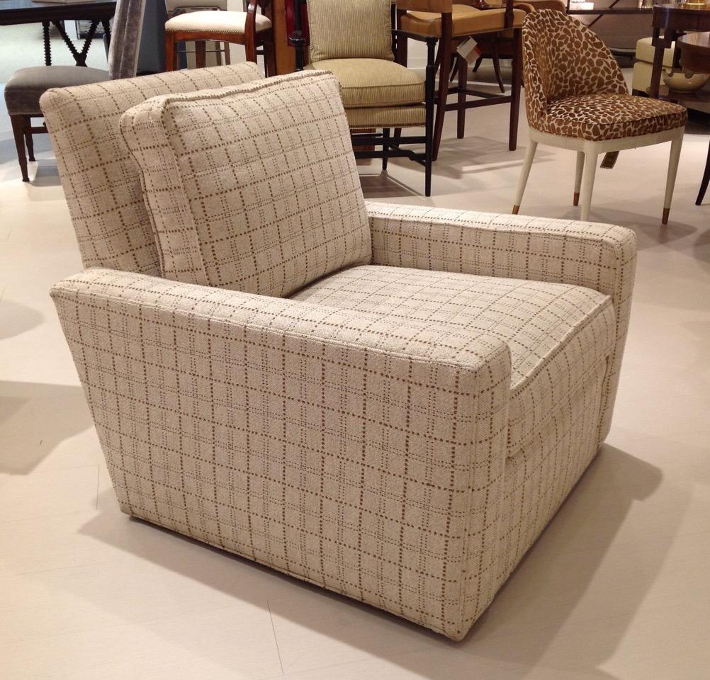 Hickory Chair Thomas Ou0027Brien Marshall Swivel Chair   Image 3 Of 6