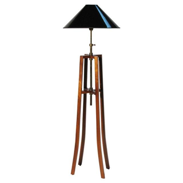 "Mirak Collection ""Chevalet"" Floor Lamp - Image 1 of 6"