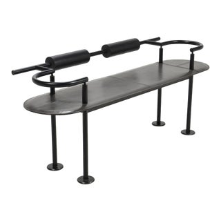 Post-Modern Bench in the manner of Ettore Sottsass