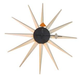 Original 1950's George Nelson Starburst Clock
