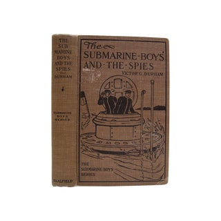 1910 The Submarine Boys And The Spies