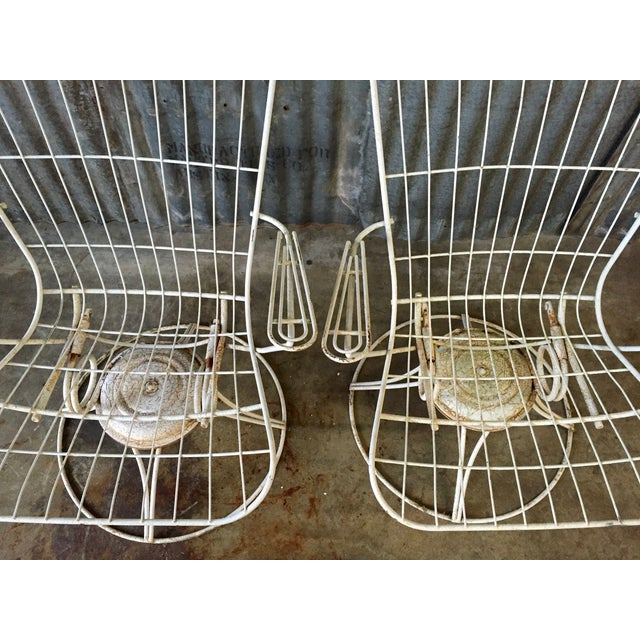 Vintage Homecrest Swivel Chairs - A Pair - Image 7 of 11