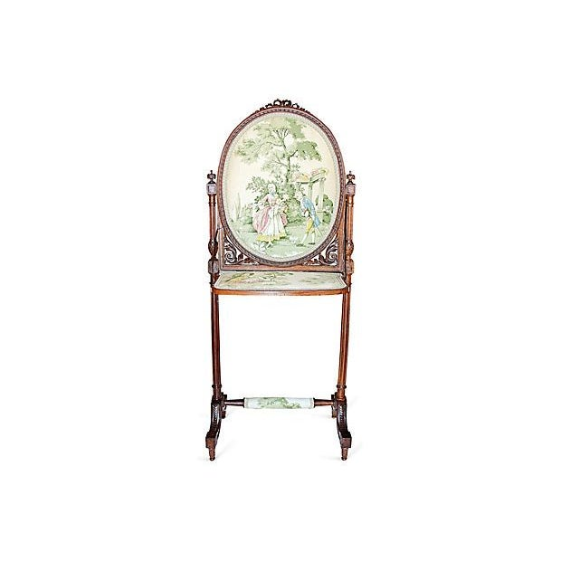 Image of Antique French Firplace Screen