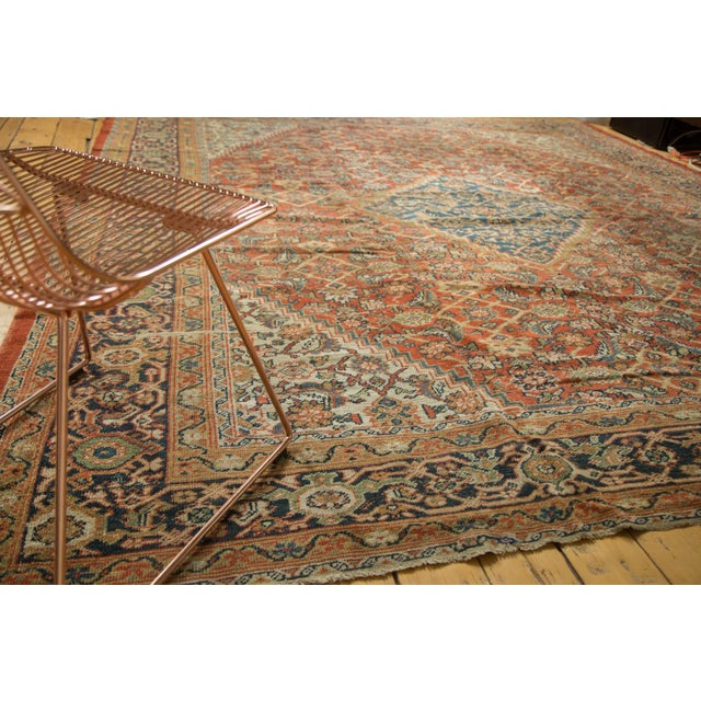 "Antique Mahal Square Carpet - 9'11"" x 9'8"" - Image 3 of 10"
