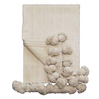 L'Aviva Home Moroccan Pom Pom Blanket