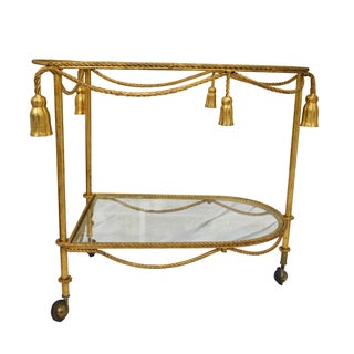 Tassel Tea Cart