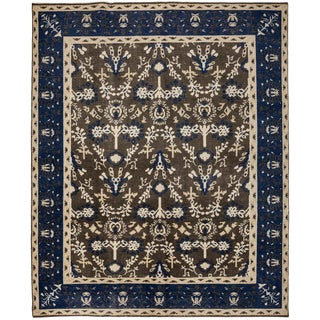 """New Contemporary Hand Knotted Area Rug - 8'1"""" x 10'"""