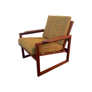 Rare Selig Vintage Danish Modern Lounge Chair