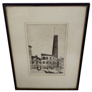 """Baltimore"" Drawing by John McGrath, 1930"