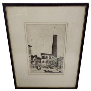 """""""Baltimore"""" Drawing by John McGrath, 1930"""