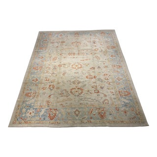 "Bellwether Rugs Vintage Inspired Turkish Oushak Area Rug - 9'4"" x 11'6"""
