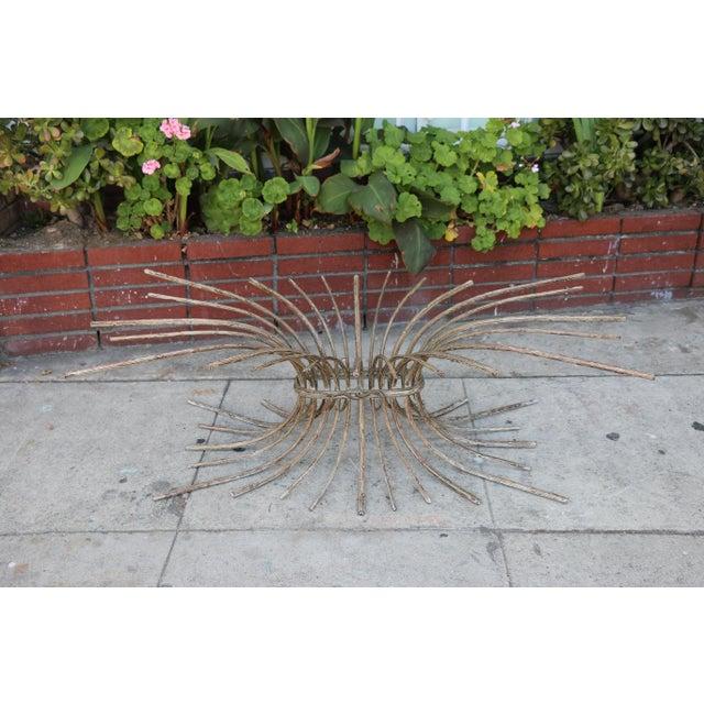 "Vintage Metal ""Tree"" Roots Coffee Table - Image 10 of 11"