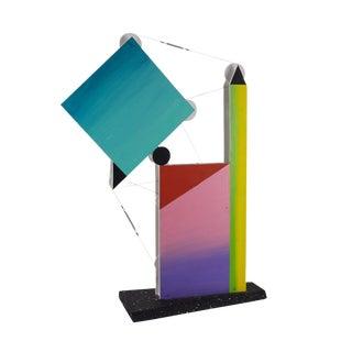 "Peter Shire 1987 ""Skyhook #2"" Mixed Media Sculpture"