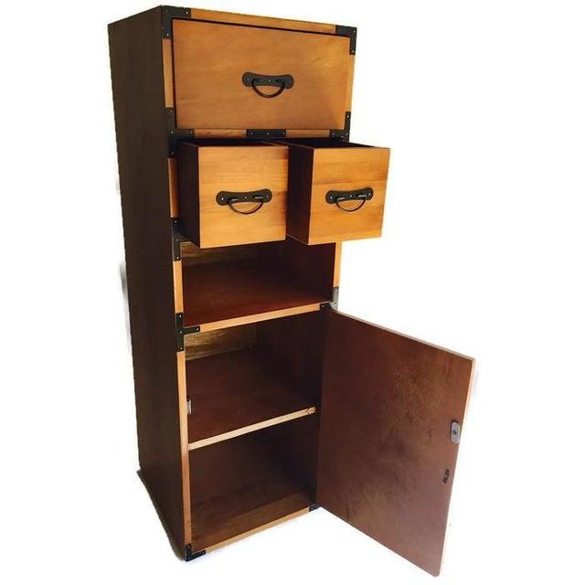 Vintage 3-Piece Tansu Style Modular Storage Unit - Image 3 of 6