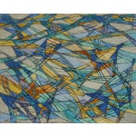 """Image of """"Bach-Inspired #1,"""" Hildegarde Haas Painting"""