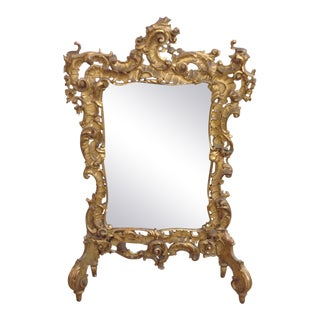 Antique Cheval Guilt Mirror