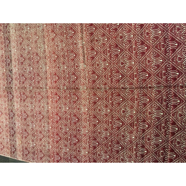 "Bellwether Rugs Turkish Flat Weave Kilim - 4'10"" X 10'5"" - Image 3 of 7"