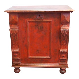 Louis XIII Style Single Door Cabinet