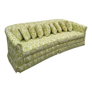 Curved Back Vintage Sofa