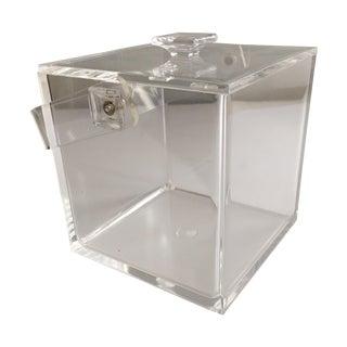 Mid–Century Lucite Ice Bucket