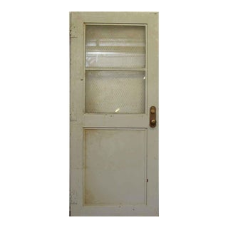 Gray Fire Door