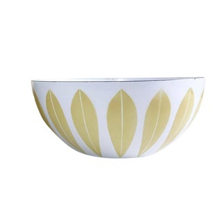 Vintage Cathrineholm Norway Lotus Enamel Bowl