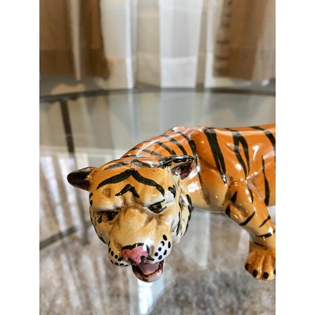 1970's Italian Terracotta Tiger - Image 3 of 8
