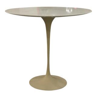 Vintage Eero Saarinen Oval Pedestal Side Table