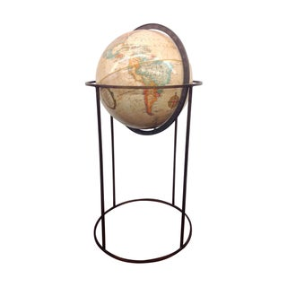 Mid-Century Globe by Paul McCobb