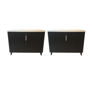 Baker Furniture L' Eau Commode - A Pair