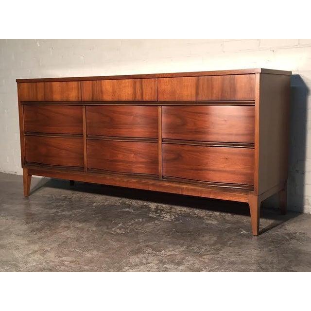 Mid-Century Modern Walnut Dresser - Image 2 of 11
