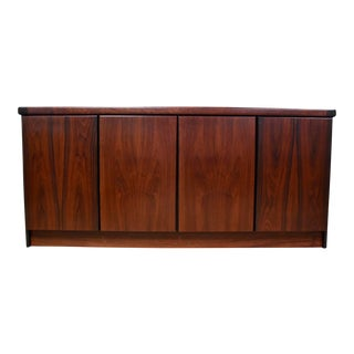 Danish Modern Rosewood Sideboard Credenza