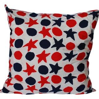 Custom Vera Neumann Star Scarf Pillow