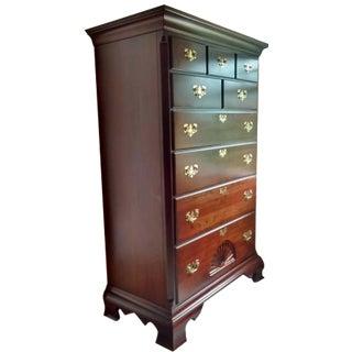 Gustavian 9-Dresser Tall Chest