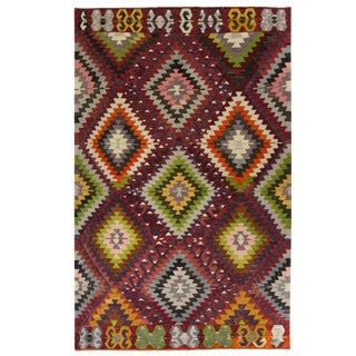 Vintage Turkish Kilim | 5'9 x 9'3 Flatweave