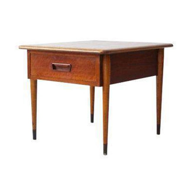 Lane Coffee Table With Drawers: Mid-Century Lane Acclaim Side Table