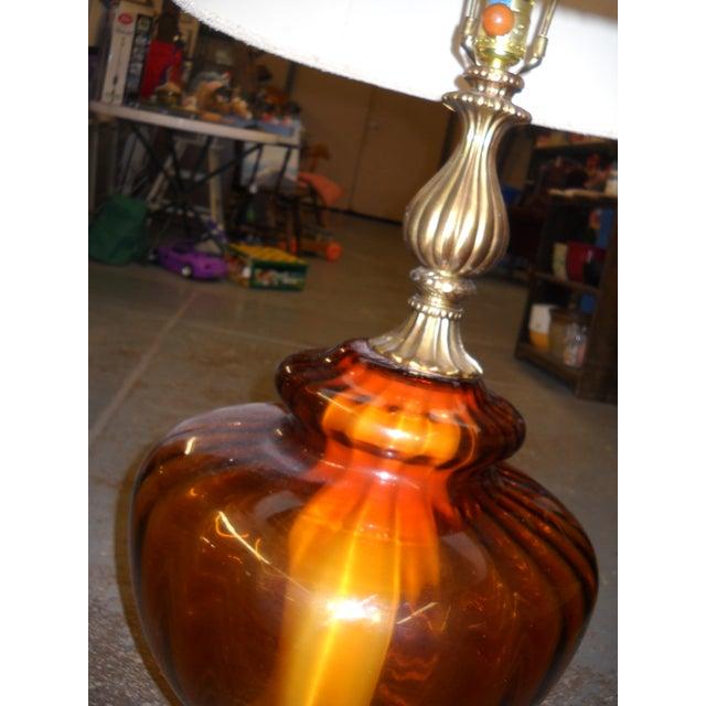 Tall Mid-Century Lamp - Image 3 of 4