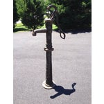 Image of Vintage French/Belgian Cast Iron Water Pump