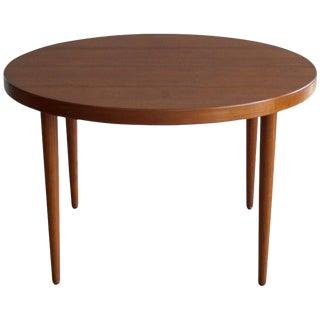 Kai Kristiansen for Skovmand & Andersen Round Teak Dining Table