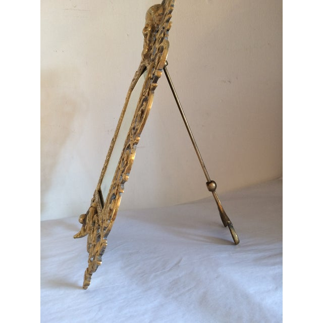 Bradley & Hubbard Brass Wall or Tabletop Mirror - Image 8 of 8
