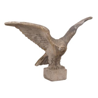 Swedish Large Cast Stone Eagle