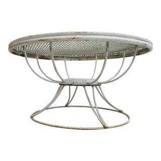 Mid-Century Homecrest Swivel Outdoor Coffee Table