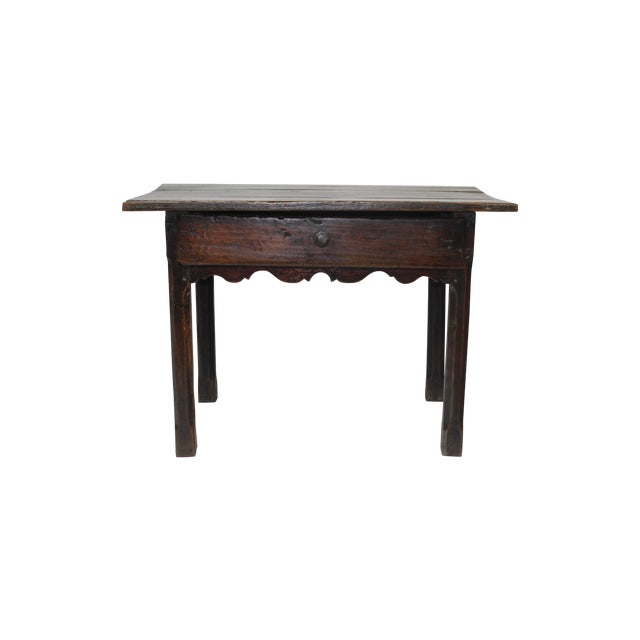 French Provincial Side Table with Drawer - Image 1 of 6