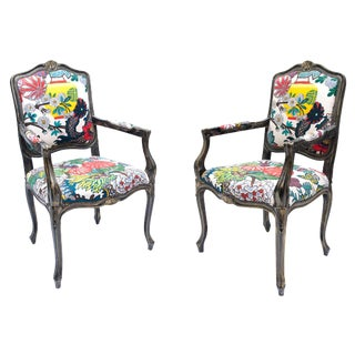 Ming Chiang Dragon Chairs - a Pair