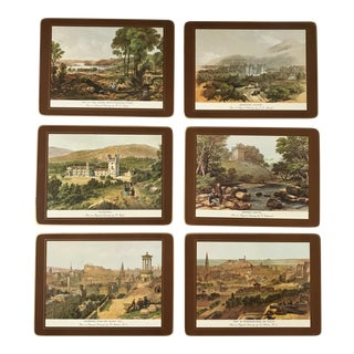 Traditional English Scene Placemats - Set of 6