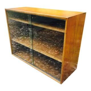 Mid-Century Console, Lp Record Album Storage Cabinet