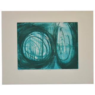 """""""The Sea"""" Etching by Terry Haas"""