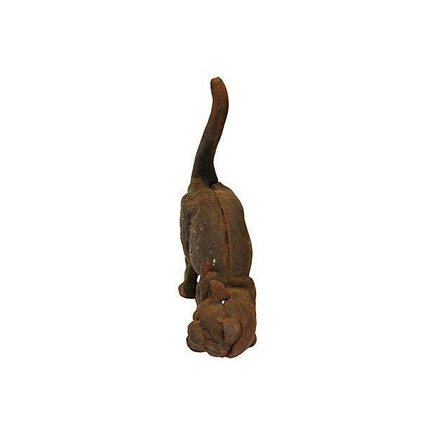 Vintage Cast Iron Cat Doorstop - Image 3 of 7
