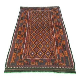 "Vintage Persian Kilim Rug - 8'11"" x 14'"