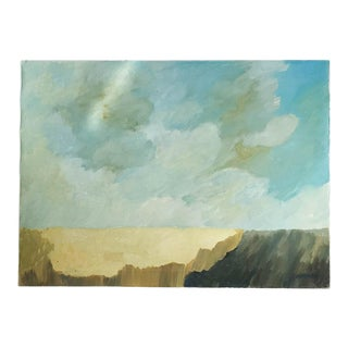 "Mid Century ""The Big Sky Country: 1964"" Painting"